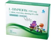 Setaria L-Tryptofan 200 mg + šafrán + mučenka, vitaminy B3 a B6 spokojená mysl, doplněk stravy 30 vega tobolek