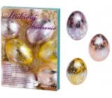 Sada k dekorování vajíček stříbření