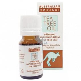Australian Tea Tree Oil Original 100% čistý přírodní olej čistí pokožku od bakterií 30 ml