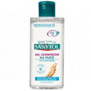 Sanytol Sensitive dezinfekční gel Aloe Vera na ruce hydratační 75 ml l(AH1N1)