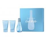 Davidoff Cool Water Woman toaletní voda 50 ml + tělové mléko 50 ml + sprchový gel 50 ml, dárková sada