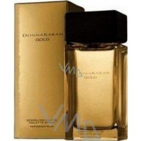 DKNY Donna Karan Gold Sparkling toaletní voda pro ženy 30 ml