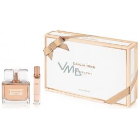 Givenchy Dahlia Divin toaletní voda pro ženy 50 ml + toaletní voda cestovní balení 12,5 ml, dárková kazeta
