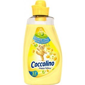 Coccolino Happy Yellow koncentrovaná aviváž 57 dávek 2 l
