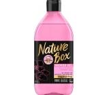 Nature Box Mandle Vitamínový antioxidant sprchový gel se 100% za studena lisovaným mandlovým olejem, vhodné pro vegany 385 ml