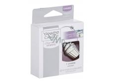 Yankee Candle Charming Scents kovový přívěsek ve tvaru stříbrného dortíku na visačku do auta