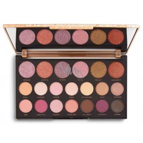 Makeup Revolution Jewel Collection paletka očních stínů Deluxe 16,9 g