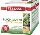 Teekanne Nachlazení se zázvorem bylinný čaj s léčivým účinkem pro v období častých nachlazení nálevové sáčky 10 x 2 g