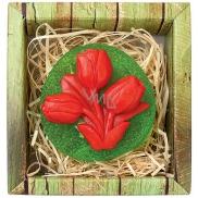 Bohemia Gifts & Cosmetics Tulipán ručně vyráběné toaletní mýdlo v krabičce 75 g