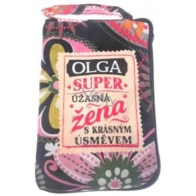 Albi Skládací taška na zip do kabelky se jménem Olga 42 x 41 x 11 cm