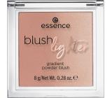 Essence Blush Lighter tvářenka a rozjasňovač 01 Nude Twilight 8 g
