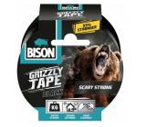 Bison Grizzly Tape lepicí páska opravná černá, šíře pásky: 50 mm s návinem o délce 10 m