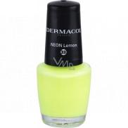 Dermacol Neon Nail Polish Neonový lak na nehty 33 Neon Lemon 5 ml