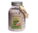 Bohemia Natur Ibišek s bylinkami relaxační koupelová sůl 1,2 kg