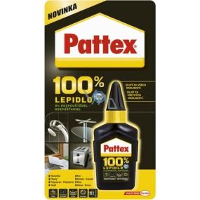 Pattex 100 % univerzální lepidlo 50 g