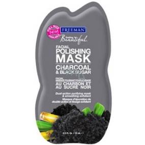 Freeman Feeling Beautiful Uhlí a Cukr peelingová pleťová maska 15 ml