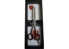 Kellermann 3 Swords Top Professional prostřihávací kadeřnické nůžky 5,5 BL850 TPF-5,5