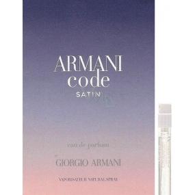Giorgio Armani Code Femme Satin parfémovaná voda 1,2 ml s rozpračovačem, Vialka