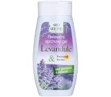 Bione Cosmetics Levandule & Panthenol, Keratin relaxační sprchový gel 250 ml