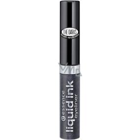 Essence Liquid Ink Eyeliner inkoustové oční linky 03 Steel The Grey 3 ml