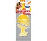 Mister Fresh Car Parfume osvěžovač vzduchu závěsný Vanilla 1 kus