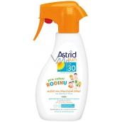 Astrid Sun OF30 rodinné mléko na opalování 300 ml sprej
