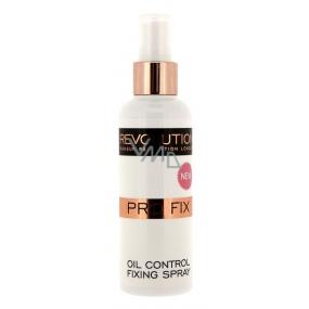 Makeup Revolution Pro Fix matující fixační sprej na make-up 100 ml