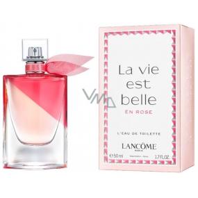 Lancome La Vie Est Belle En Rose toaletní voda pro ženy 50 ml