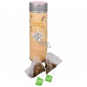 English Tea Shop Bio Zklidňující směs 15 kusů bioodbouratelných pyramidek čaje v recyklovatelné plechové dóze 30 g