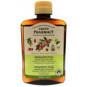 Green Pharmacy Zpevňující tělový a masážní olej 200 ml