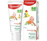 Colgate Kids Natural Fruit 0-2 roky zubní pasta pro děti 50 ml