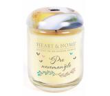 Heart & Home Pro novomanžele Sojová vonná svíčka velká hoří až 70 hodin 340 g