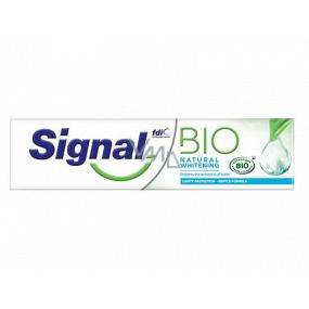 Signal Bio Natural Whitening bělicí zubní pasta 75 ml