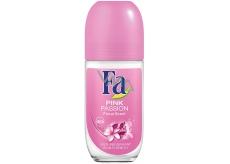Fa Pink Passion Floral Scent kuličkový deodorant roll-on pro ženy 50 ml