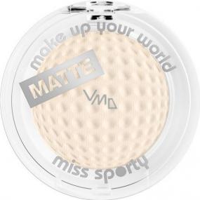 Miss Sporty Studio Colour Mono Eyeshadow Matte oční stíny 125 Nude 2,5 g