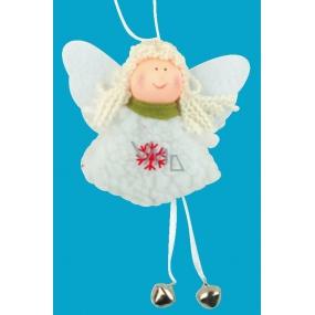 Anděl s rolničkami 15 cm