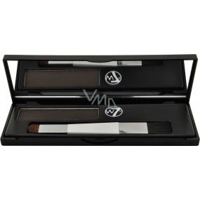W7 Cosmetics Cover Up Root Camouflage Kit barva na krytí šedivých vlasových kořínků Dark Brown 3,5 g