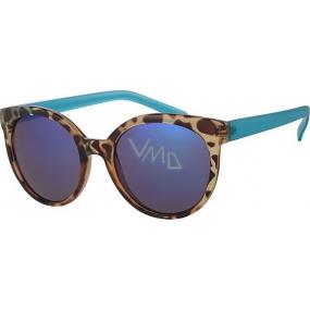 Nae New Age Sluneční brýle leopardí tyrkysové A40252