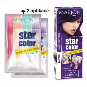 Marion Star Color smývatelná barva na vlasy Purple - Fialová 2 x 35 ml