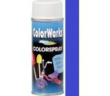 Color Works Colorsprej 918508 královsky modrý alkydový lak 400 ml
