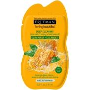 Freeman Manukový med a Tea Tree olej kaolínová čisticí pleťová maska pro mastnou a poničenou pleť 15 ml