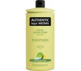 Authentic Toya Aroma Ice Lime & Lemon tekuté mýdlo náhradní náplň 600 ml