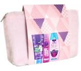 Fa Kids Teens Miss Clever sprchový gel 200 ml + Fa Pink Passion deodorant sprej pro ženy 150 ml + Schauma Fresh It Up! šampon na vlasy 250 ml + etue, kosmetická sada