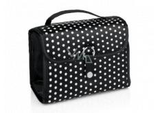 Diva & Nice Kosmetická kabelka Polka Dot 17,8 x 10,8 x 12,7 cm.