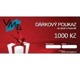 Dárkový poukaz VMD Drogerie na nákup zboží v hodnotě 1000 Kč