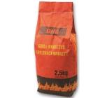 Grill Dřevěné brikety 2,5 kg