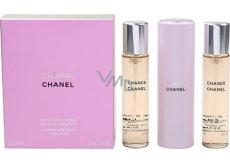 Chanel Chance toaletní voda komplet pro ženy 3 x 20 ml