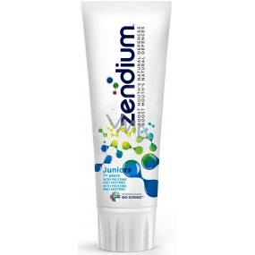 Zendium Junior Minty Mild Taste 7+ let pomáhající při ochraně proti zubnímu kazu zubní pasta 75 ml