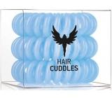 HH Simonsen Hair Cuddles Light Blue gumičky do vlasů světle modré 3 kusy