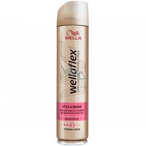 Wella Wellaflex Style & Repair silné zpevnění lak na vlasy 250 ml